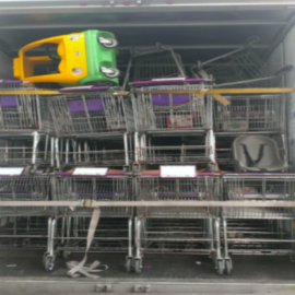 carts on truck