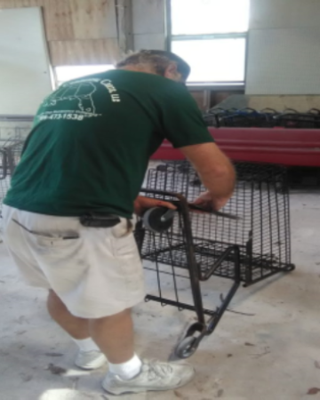 Shopping Cart Repair