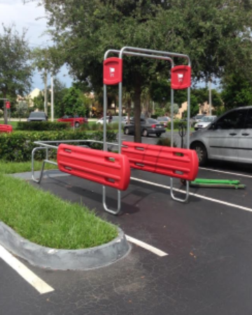 Cart Corral Installation